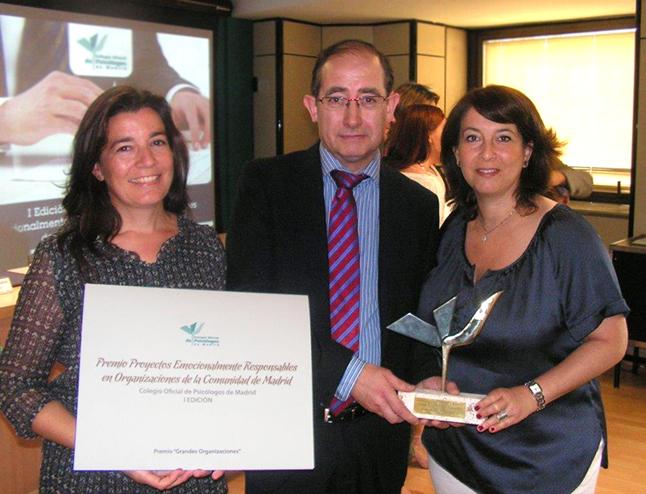 Cetelem, premiada por el Colegio Oficial de Psicólogos de Madrid