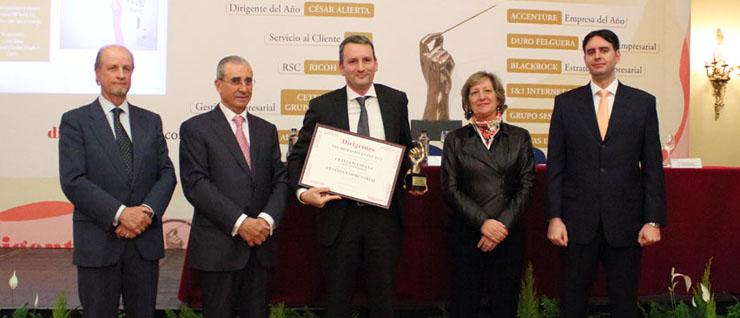 Cetelem, Premio Excelencia en Gestión Empresarial 2012 por la Revista Dirigentes