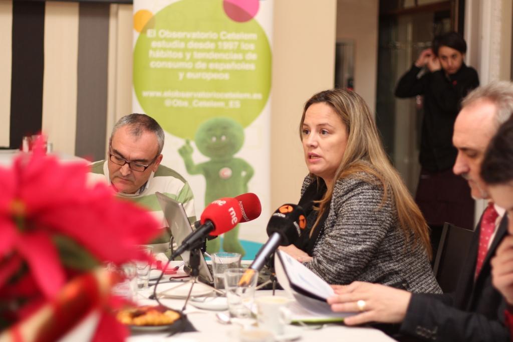 Liliana Marsán, en la presentación a medios del Observatorio Cetelem eCommerce 2014