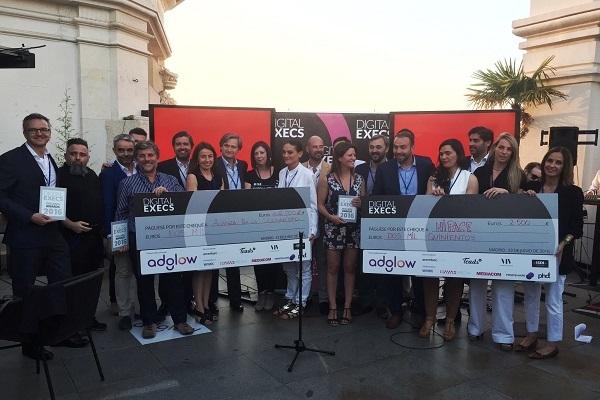 El equipo de Mindshare recoge el premio Digital Execs por su campaña digital para Cetelem