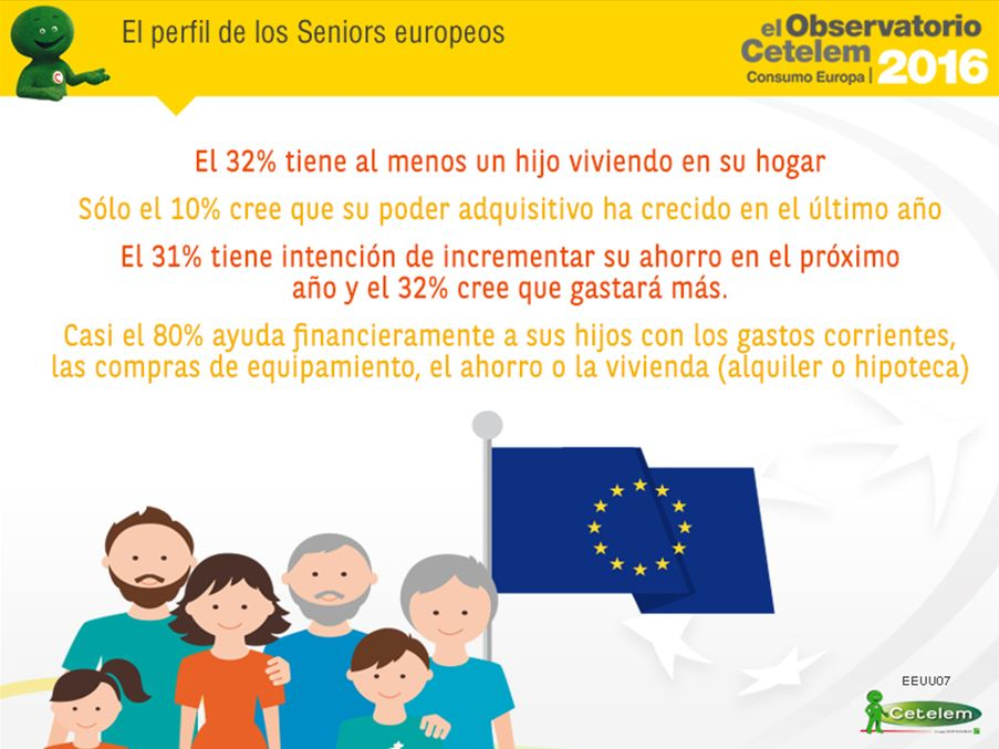 Perfil de los seniors europeos. Observatorio Cetelem Consumo Europa 2016