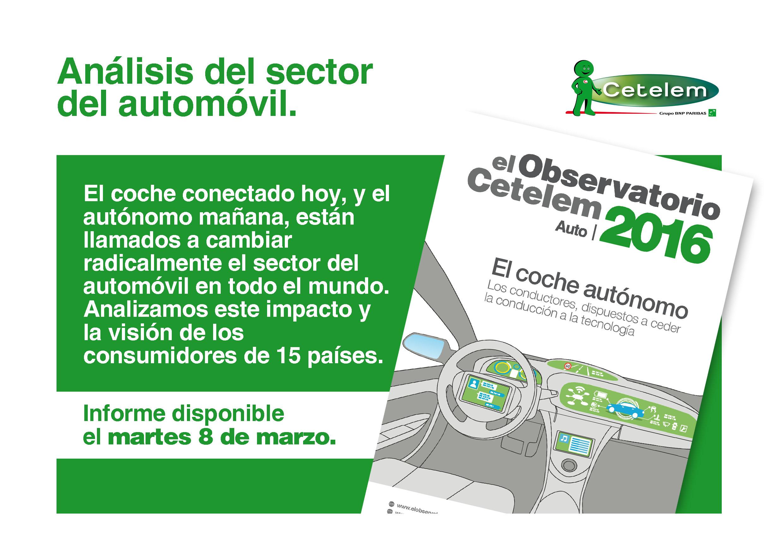 Observatorio Cetelem - Nuevo informe 2016 del automóvil