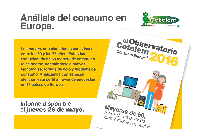 Observatorio Cetelem - Consumo en Europa 2016